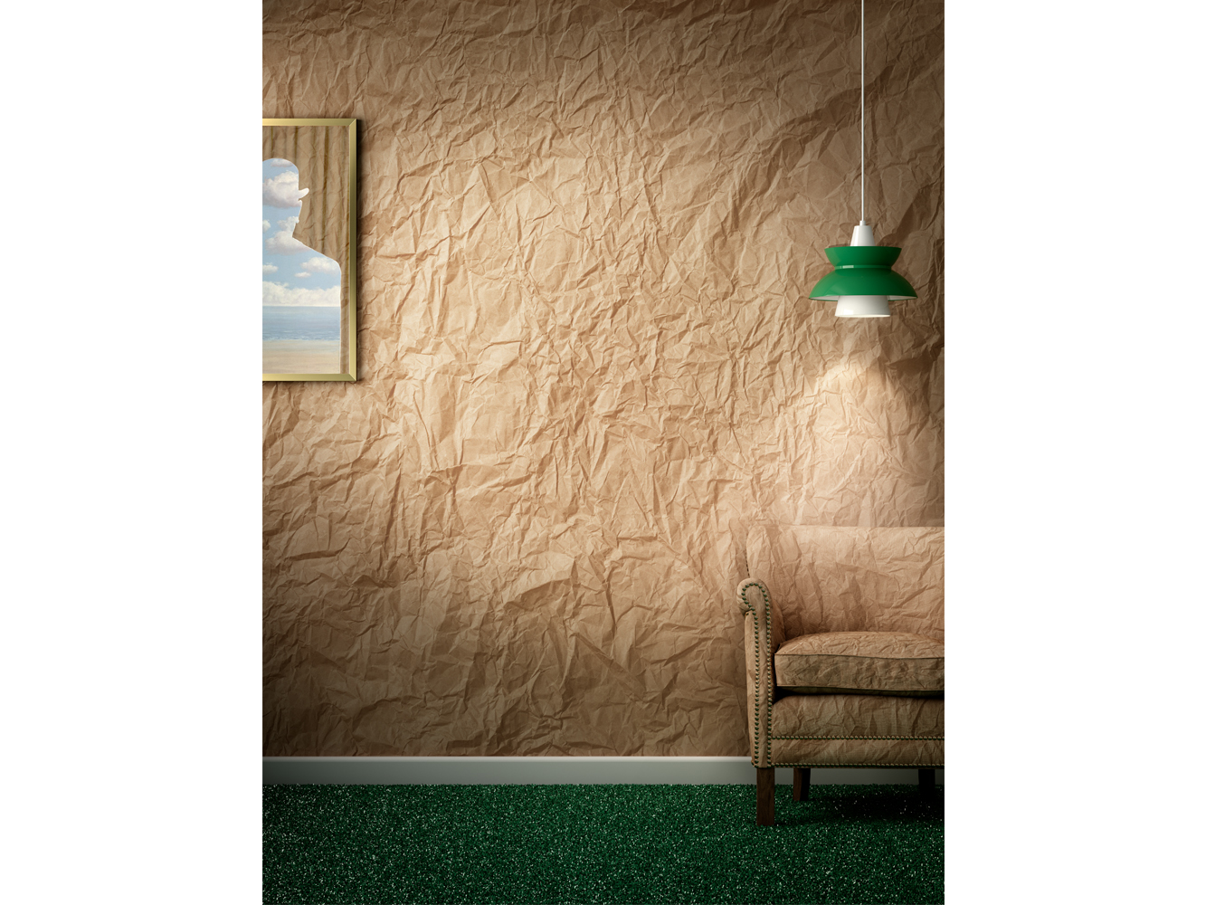 Brown Paper Wall Paper