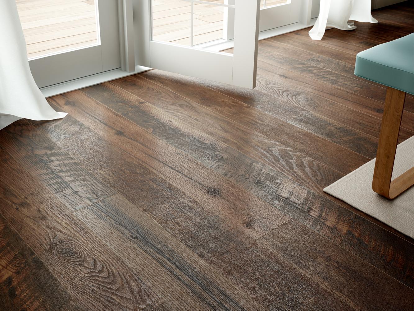 Copper Floor Detail