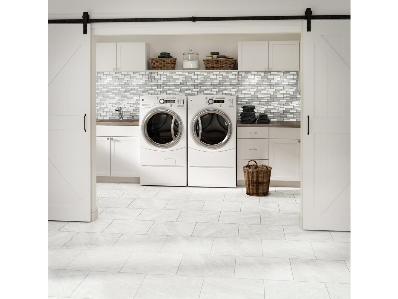 Gray Tile Room