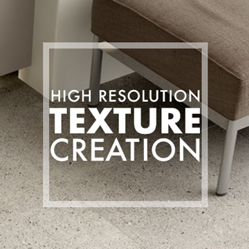 High Resolution Texture Creation
